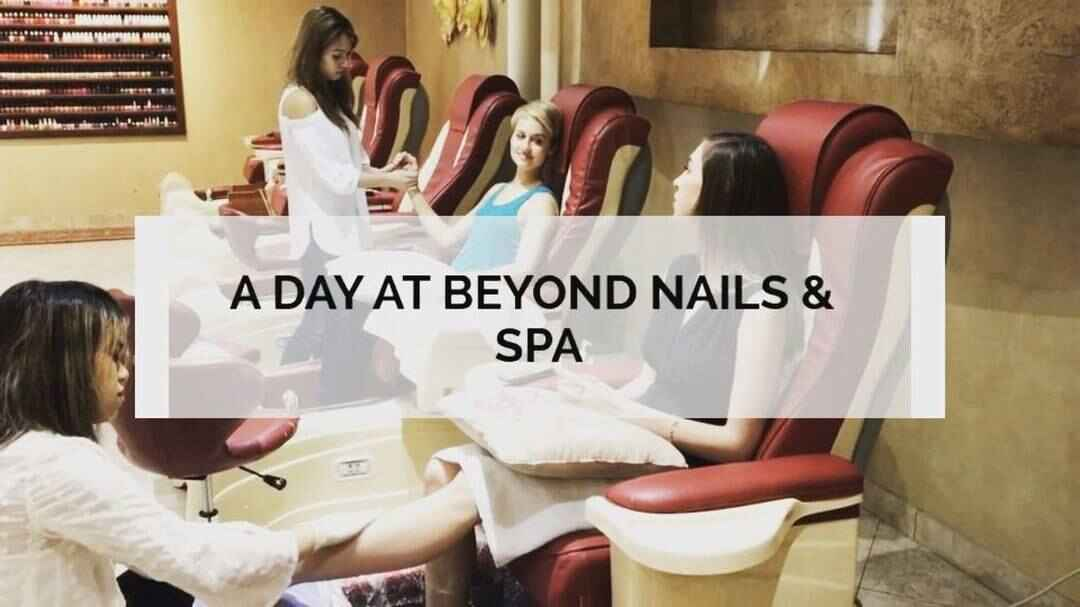 A Day At BEYOND Nails & Spa never disappoints! #beyondnasdallas #relax #dfw #spa #dallas #manicure #pedicure #massage #n...