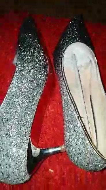 Bridal elegant shoe with low heel...The comfort you want on your wedding or special day...Priced....230ghc#limited
