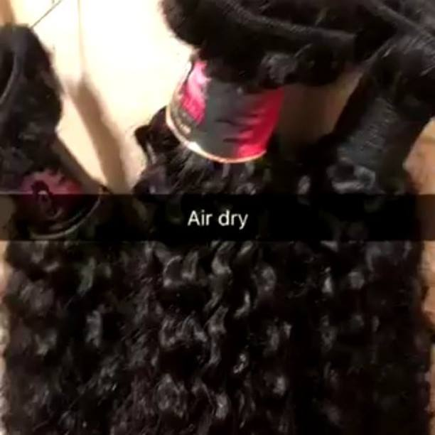 Make sure to let it air dry!Cali Strands Hair Collection (909) 991 7493