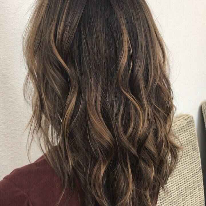 A little video of my Balayage from earlier today.. it's the perfect time to get those soft sun kissed lights from the co...
