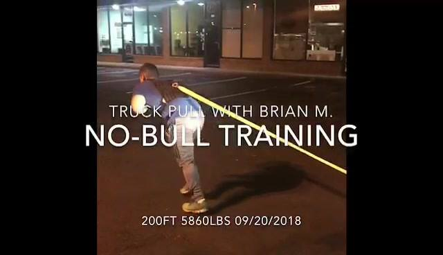 Leg Day wt No-Bull Training client Brian M.  Tundra  200 ft 5860 Lbs.  Universal Fitness.  Contact Vinny @ 757-620-3797 ...