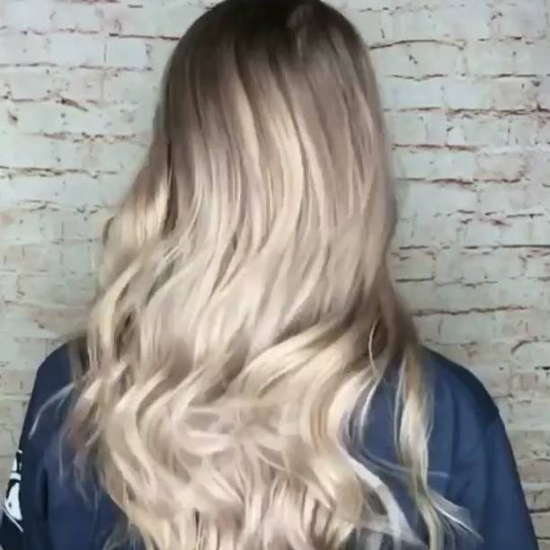 Swirling and serving you this vanilla soft serve one Balayage at a time!  I couldn't have asked for a better canvas to w...