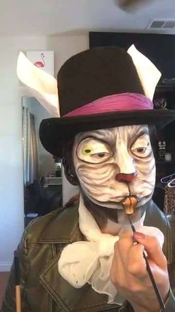 "Recreating Alice: Madness Returns ""White Rabbit"" Originally created by Madeyewlook"